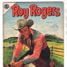 Tebeos: ROY ROGERS # 10 NOVARO 1953 CUENTOS DEL AMIGO CARLOS 32 PAG VENENO EN EL AGUA BUEN ESTADO. Lote 102479631