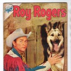 Tebeos: ROY ROGERS # 39 NOVARO 1955 CUENTOS DEL AMIGO CARLOS 32 PAG UN RODEO ACCIDENTADO BUEN ESTADO. Lote 102559643