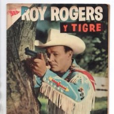 Tebeos: ROY ROGERS # 58 NOVARO 1957 CUENTOS DEL AMIGO CARLOS 32 PAG EL SOCIO & LOS ABIGEOS BUEN ESTADO. Lote 102559707