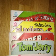 Tebeos: VARIOS NOVARO TOM Y JERY SUPER RATON, PAJARO LOCO, CONEJO DE LA SUERTE. Lote 103209170