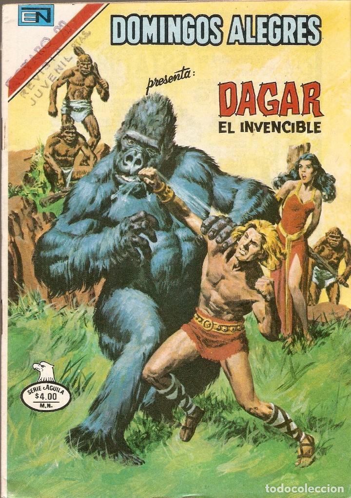 DOMINGOS ALEGRES - SERIE ÁGUILA - DAGAR EL INVENCIBLE - AÑO XXVI - Nº 2.1311 - 25 NOV 1979. (Tebeos y Comics - Novaro - Domingos Alegres)