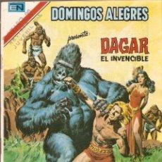 Tebeos: DOMINGOS ALEGRES - SERIE ÁGUILA - DAGAR EL INVENCIBLE - AÑO XXVI - Nº 2.1311 - 25 NOV 1979.. Lote 103484811