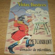 Tebeos: VIDAS ILUSTRES N.94 METCHNIKOFF OFERTON.. Lote 103513807
