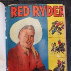 Tebeos: RED RYDER ALBUM CON 5 EJEMPLARES ENCUADERNADOS EN UN TOMO CONTIENE DEL Nº 47 AL 51 NOVARO 1958-59. Lote 103624979