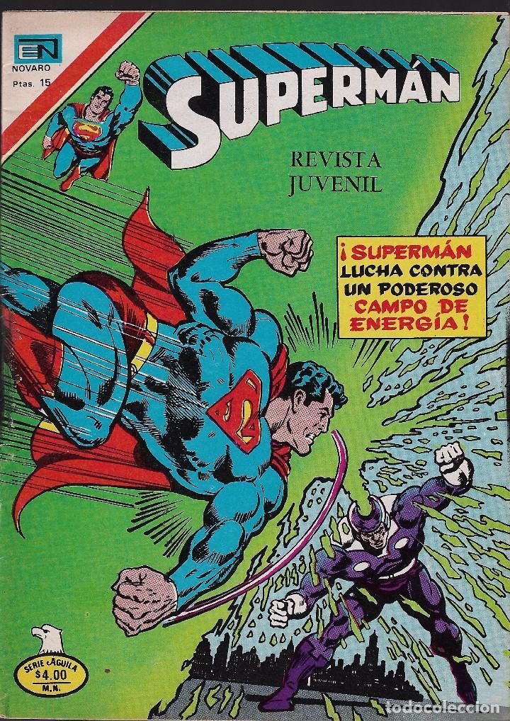 SUPERMAN - SERIE ÁGUILA - DIMENSIÓN DESCONOCIDA - AÑO XXVI - Nº 2.1132 - 24 NOVIEMBRE 1977. (Tebeos y Comics - Novaro - Superman)