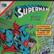 Tebeos: SUPERMAN - SERIE ÁGUILA - DIMENSIÓN DESCONOCIDA - AÑO XXVI - Nº 2.1132 - 24 NOVIEMBRE 1977.. Lote 103667595