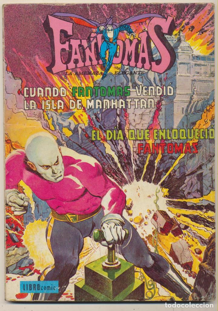 FANTOMAS. LIBRO COMIC VII. NOVARO 1977. (Tebeos y Comics - Novaro - Otros)