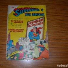 Tebeos: SUPERMAN Y SUS AMIGOS Nº 18 EDITA NOVARO . Lote 103816607