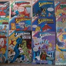 Tebeos: SUPERMAN LOTE DE 39 #S NOVARO SERIE AGUILA MEXICO 1982-85 BATMAN MARVILA FLASH SUPERNIÑA. Lote 103880387