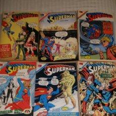 Tebeos: SUPERMAN NOVARO GRAN LOTE DE 90 NUMEROS PRINCIPIOS DE LOS 70. Lote 103881052