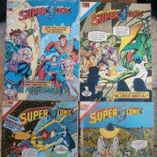Tebeos: SUPERCOMIC LA LEGION DE SUPERHEROES LOTE DE 12 #S NOVARO SERIE AGUILA MEXICO 1975-85. Lote 103882103
