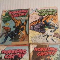 Tebeos: HOPALONG CASSIDY NOVARO LOTE DE 11 NUMEROS. Lote 103932406