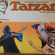 Tebeos: EDGAR RICE BURROUGHS. TARZAN EL REY DE LA JUNGLA Nº 8. LA NIEBLA LUMINOSA. NOVARO 1977. Lote 103945839