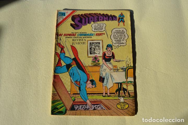 SUPERMAN Nº 2-1073 (Tebeos y Comics - Novaro - Superman)