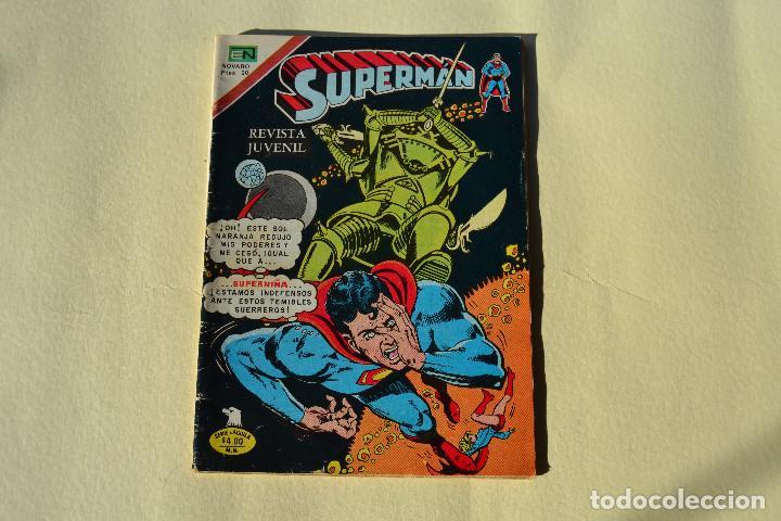 SUPERMAN Nº2- 1166 (Tebeos y Comics - Novaro - Superman)