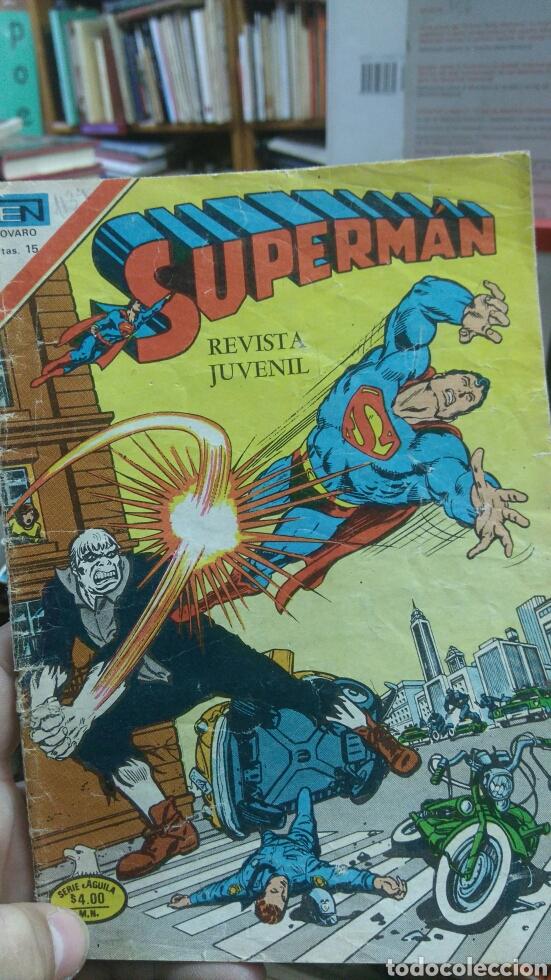SUPERMAN N.- 1134. NOVARO (Tebeos y Comics - Novaro - Superman)