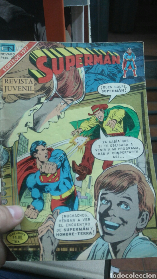 SUPERMAN N.- 1148. NOVARO (Tebeos y Comics - Novaro - Superman)