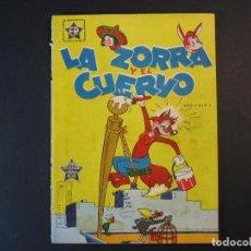 Tebeos: LA ZORRA Y EL CUERVO Nº1. (1955,ERSA/NOVARO). Lote 108189832