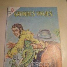 Tebeos: GRANDES VIAJES Nº 20 AÑO 1964 EL FINAL HEROICO D STANLEY. Lote 105026847