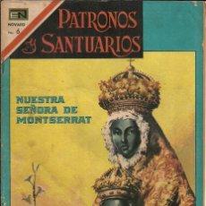Tebeos: PATRONOS Y SANTUARIOS - NUESTRA SEÑORA DE MONSTSERRAT - 1967. Lote 105244347