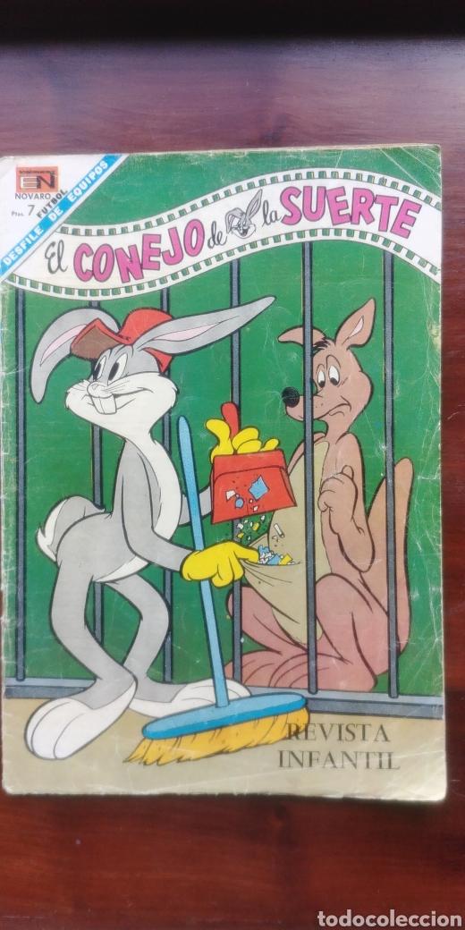 EL CONEJO DE LA SUERTE N 293 NOVARO (Tebeos y Comics - Novaro - El Conejo de la Suerte)