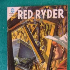 Tebeos: RED RYDER Nº 142 EDITORIAL NOVARO. Lote 105581667