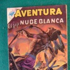 Tebeos: AVENTURA Nº 129 EL JEFE NUBE BLANCA EDITORIAL NOVARO. Lote 105582371