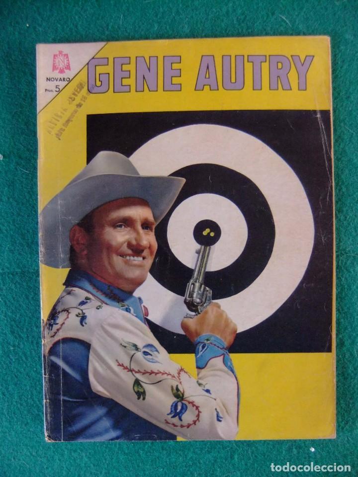 GENE AUTRY Nº 145 EDITORIAL NOVARO (Tebeos y Comics - Novaro - Otros)