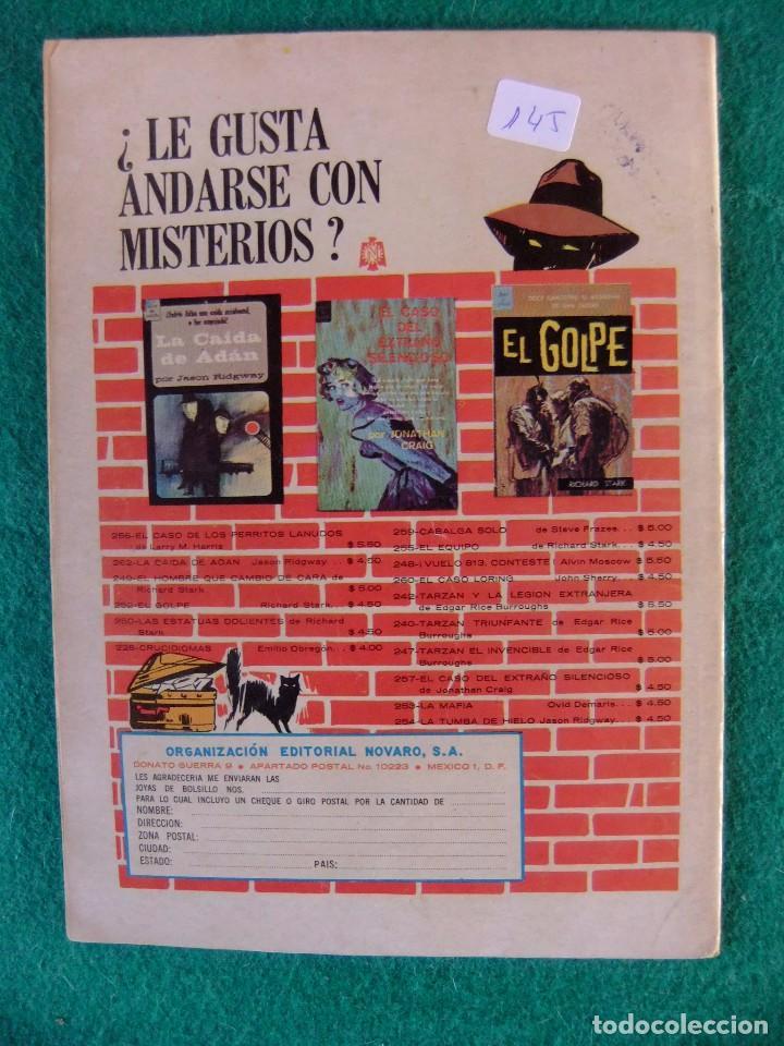 Tebeos: GENE AUTRY Nº 145 EDITORIAL NOVARO - Foto 2 - 105582783
