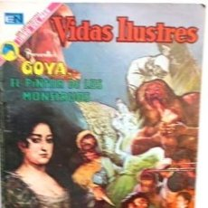 Tebeos: GOYA EL PINTOR DE LOS MONSTRUOS. Lote 105636659