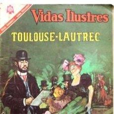 Tebeos: TOULOUSE -- LAUTREC. Lote 105636743
