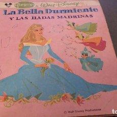 Tebeos: LA BELLA DURMIENTE Y LAS HADAS MADRINAS - ED. NOVARO - ALEGRIAS DE WALT DISNEY. Lote 105842427