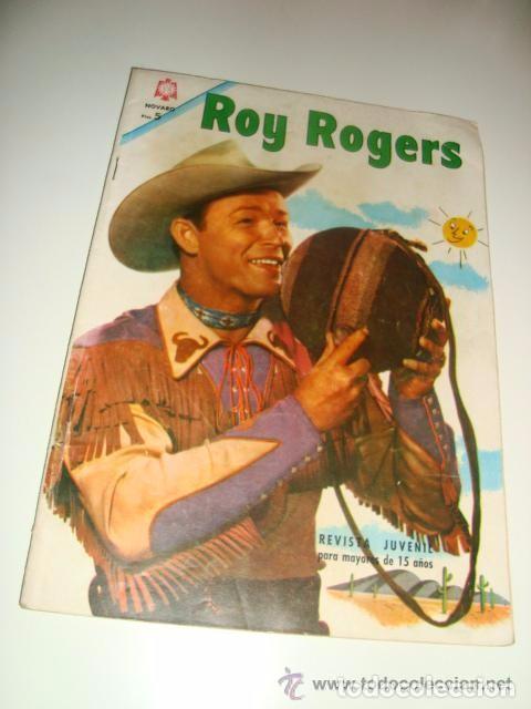 ROY ROGERS NUMERO 168 (Tebeos y Comics - Novaro - Roy Roger)