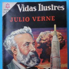 Tebeos: VIDAS ILUSTRES , JULIO VERNE , Nº 131 , NOVARO , ORIGINAL . Lote 106388519