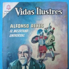 Tebeos: VIDAS ILUSTRES , ALFONSO REYES , Nº 134 , NOVARO , ORIGINAL. Lote 106396771