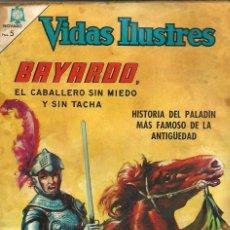 Tebeos: VIDAS ILUSTRES Nº 133 - BAYARDO, EL CABALLERO SIN MIEDO - NOVARO 1966 - EL DE LA FOTO - VER DESCRIP.. Lote 106622167