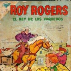 Tebeos: ROY ROGERS EL REY DE LOS VAQUEROS Nº 93 - SEA Y NOVARO 1960 - EL DE LA FOTO - VER DESCRIPCION. Lote 106622343