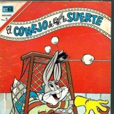Tebeos: EL CONEJO DELA SUERTE Nº 273 - NOVARO 1967 - EL DE LA FOTO - VER DESCRIPCION. Lote 106626803