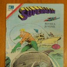 Tebeos: COMIC - SUPERMAN - SERIE AGUILA - AÑO XXVI - Nº 1157- 15 DE MAYOL 1978 - NOVARO. Lote 127460678