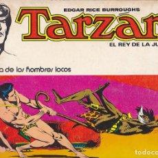 Tebeos: COMIC TARZAN EL REY DELA JUNGLA LA FORTALEZA DE LOS HOMBRES LOCOS . Lote 107490791