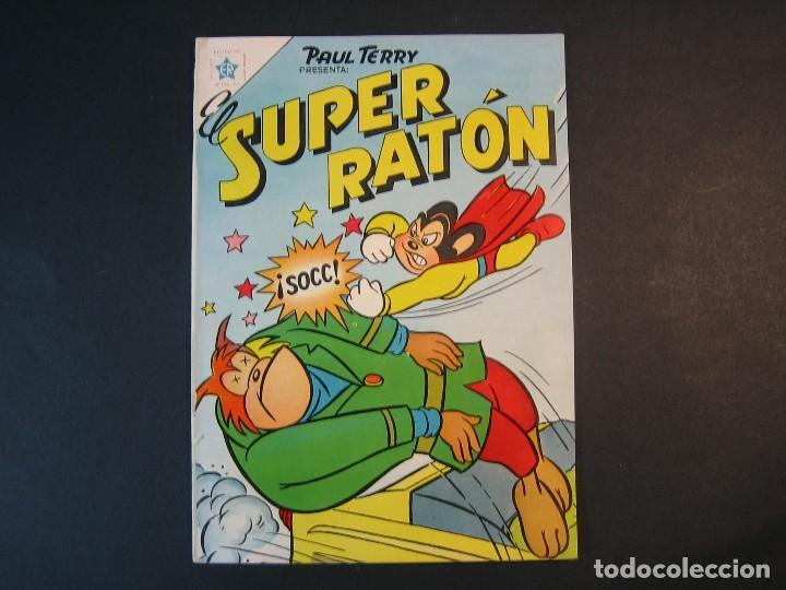 EL SUPER RATÓN Nº 51 ( EDICIONES RECREATIVAS,1951) (Tebeos y Comics - Novaro - Otros)