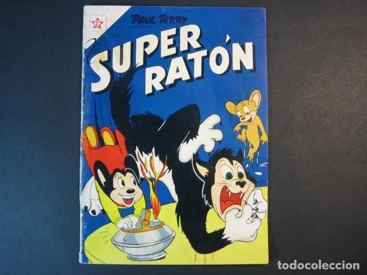 EL SUPER RATÓN Nº44 ( EDICIONES RECREATIVAS ,1951) (Tebeos y Comics - Novaro - Otros)