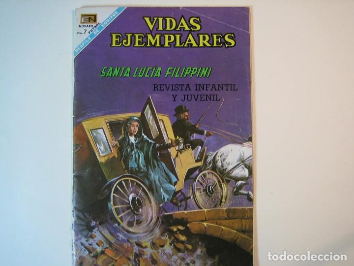 VIDAS EJEMPLARES Nº264 (1954, ER / NOVARO) (Tebeos y Comics - Novaro - Vidas ejemplares)