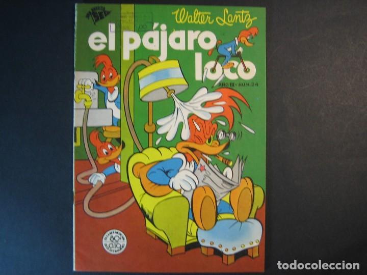 EL PAJARO LOCO Nº24 (1950, SEA / NOVARO) (Tebeos y Comics - Novaro - Otros)