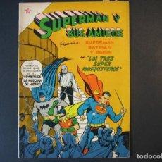 Tebeos: SUPERMAN Y SUS AMIGOS Nº14(1952, ER / NOVARO). Lote 107553795
