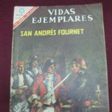 Tebeos: VIDAS EJEMPLARES. Nº 233. SAN ANDRES FOURNET. EDITORIAL NOVARO. 15 DE NOVIEMB RE 1966.. Lote 107581087