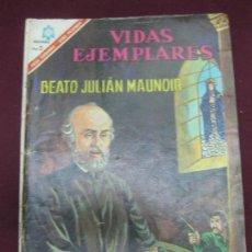 Tebeos: VIDAS EJEMPLARES. Nº 234. BEATO JULIAN MAUNOIR.. EDITORIAL NOVARO. 1 DE DICIEMBRE 1966.. Lote 107581255