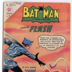 Tebeos: BATMAN Nº 188 PRESENTA: FLASH - 14 DE OCTUBRE DE 1963 EDITORIAL NOVARO. Lote 107751827