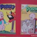 Tebeos: LOTE 2 COMICS: PORKY Y SUS AMIGOS (EDIT. NOVARO -MÉXICO-) 1972 ¡ORIGINALES!. Lote 107793663