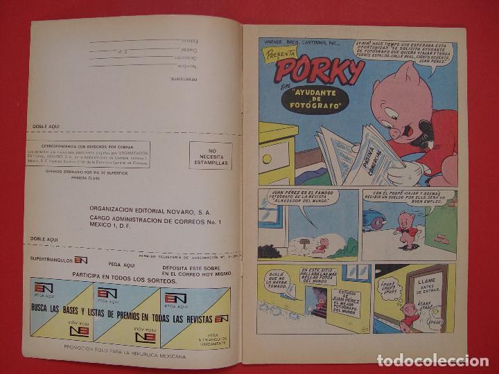 Tebeos: LOTE 2 COMICS: PORKY Y SUS AMIGOS (EDIT. NOVARO -MÉXICO-) 1972 ¡ORIGINALES! - Foto 4 - 107793663